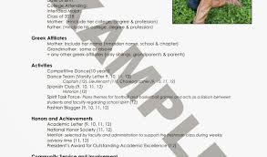 Sample Sorority Resume Custom Sorority Recruitment Resume Writing A Letter Of Recommendation For