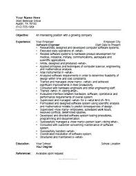 Software Engineering Resume Sample Resume Format For Freshers Best