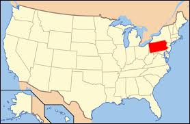 Image result for pennsylvania map