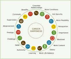 Career Happiness Chart What Are Your Values Careers Job