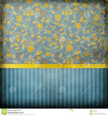 Retro Behang Blauw