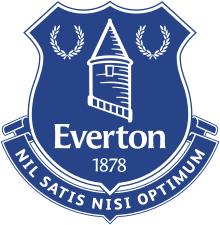Image result for EVERTON logo
