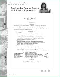 No Job Experience Resume Examples 24 Work Experience On Resume Applicationsformat 24