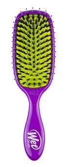 Wet <b>Brush</b> Shine Enhancer Hair <b>Brush</b> - <b>Purple</b> - Exclusive Ultra-<b>soft</b>…