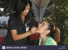 makeup artist 65th venice film festival l oreal cosmetic celebrity endort advers venice italy 01 09 08