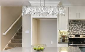 back to how to make linear chandelier