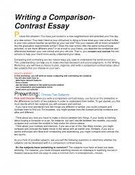 how to write compare and contrast essay introduction paragraph  examples of comparison and contrast essays block format essay