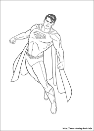 Superman coloring pages will primarily attract the attention of comic book lovers. Superman Coloring Picture