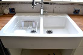White Apron Kitchen Sink Farmhouse Sink Kitchen Design White Farmhouse Kitchen Sink