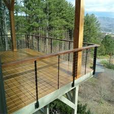 steel cable railing. Factory Provide High Quality Stainless Steel Cable Railing/Balcony Railings Railing
