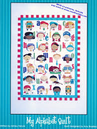 My Alphabet Quilt pattern by Amy Bradley Designs & MyAlphabetQuiltSewingPattern. ... Adamdwight.com