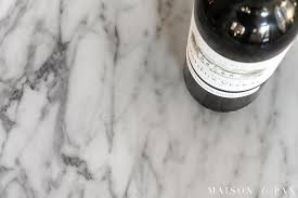 Is marble porous Seal Scratches On Marble Countertops Should Use Marble In The Kitchen Its One Of Ebay Should You Use Marble In The Kitchen Maison De Pax
