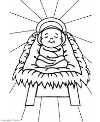 Jesus was born in the year 6 in bethlehem, palestine, to a woman named mary. Baby Jesus In The Manger Coloring Pages Jesus Coloring Pages Bible Coloring Pages Printable Christmas Coloring Pages