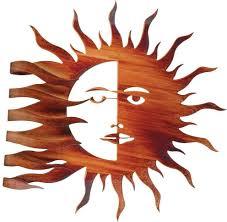 metal sun wall decor inspirational lazart metal wall art hangings hanging southwest moon sun