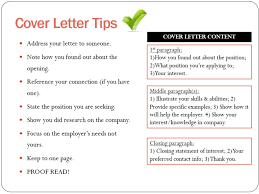 What Info Should A Cover Letter Contain | Docoments Ojazlink