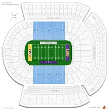 Lsu Football Ticket Seating Chart Tiger Stadium Stadium Club West Football Seating