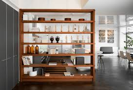 Remarkable Bookshelf Wall Dividers Photo Decoration Ideas