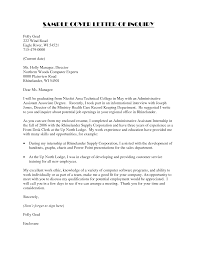 Professionally designed cover letter sample that uses bullet