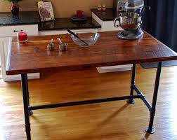industrial kitchen table furniture. Industrial Kitchen Island, Pipe Table, Prep Modern Island Table Furniture
