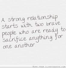Strong Relationship Quotes Long Distance Quotes A Strong Relationship Starts With Two Brave 15