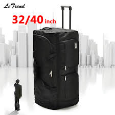 Letrend Super Light Rolling Luggage <b>Ultra large Capacity</b> 32/40inch ...