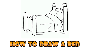 bed drawing easy. Delighful Bed With Bed Drawing Easy YouTube