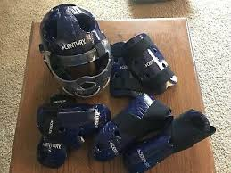 Century Sparring Gear Size Chart Century Blue Sparring Gear Set New Any Size Karate 5 Piece