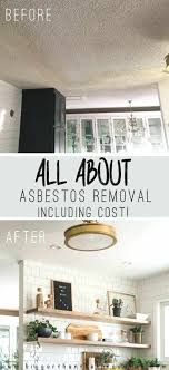cost to demo a wall all about asbestos removal including cost how much does it cost