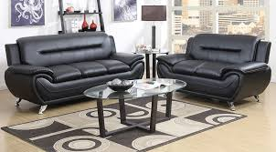 2701 black sofa and love