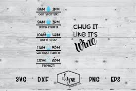 Choose from 4700+ gym graphic resources and download in the form of png, eps, ai or psd. Chug It Like It S Wine A Fitness Svg Cut File 69491 Svgs Design Bundles