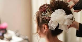 お色直し髪形結婚式披露宴のカラードレス和装のヘアチェンジは