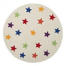 capella round rainbow stars kids rug throughout childrens star shaped rug