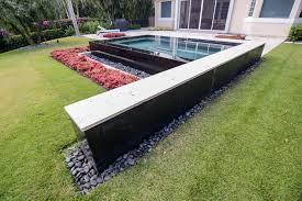 Infinity Pool Backyard Minimalist Best Design Inspiration