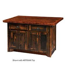 Amish Furniture Kitchen Island Amazing Amish Dining Room Furniture Blue Mountain Hickory Kitchen