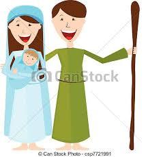 mary and joseph clip art. Brilliant Clip Virgin Mary St Joseph And Baby Jesus  Csp7721991 Intended Mary And Clip Art J