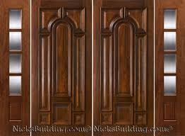 double front door with sidelights. Double Front Door With Sidelights For Popular Exterior Doors Solid Mahogany T