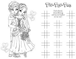 Wedding Coloring Page Projectelysiumorg