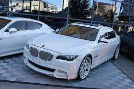 BMW 3 Series white 750 bmw : BMW 750i on Deep Dish Asanti Wheels - 1 | MadWhips