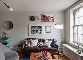 charming eclectic living room ideas. Eclectic Bachelor Pad Living Room With Industrial And Street Style Influences [Design: LABLstudio] Charming Ideas