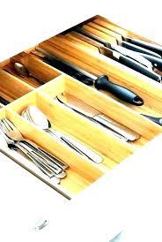 best kitchen drawer organizer cabinet knife organizers