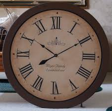 clocks 30 inch clock extra large decorative wall clocks 30 inch throughout extravagant 40