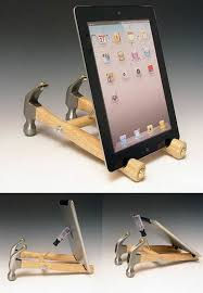 diy hammer ipad stand this is probably the most amazing and yet the least
