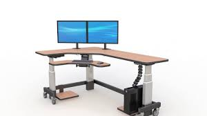 full size of desk workstation standing desk for tall person standing desk on wheels