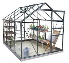 simplicity classic old cottage green greenhouse starter package 6ft3 wide 1918mm x 8ft3 long 2538mm