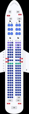 boeing 737 800 seat map korean air