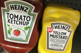 french s mustard and heinz ketchup not the perfect mix