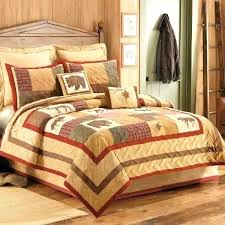 rustic cabin bedding sets rustic quilts for cabins cabin quilt bedding sets big sky patchwork quilt