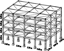 typical reinforced concrete frame