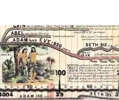 Bible Timeline Wall Chart Adams Synchronological Chart Or Map Of History Historical