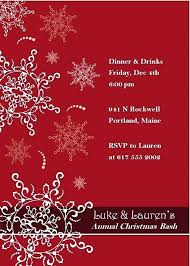 Holiday Dinner Invitation Template Business Party Invitation Wording Sepulchered Com